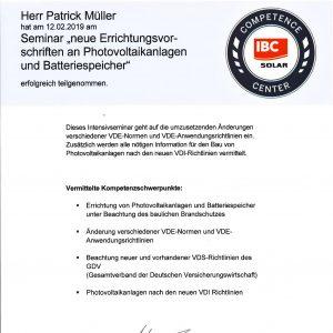 Teilnahmezertifikat_IBC_Seminar_neueErrichtungsvorschriften_Müller,Patrick-1
